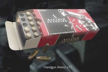 Resident Evil 3 Ammo