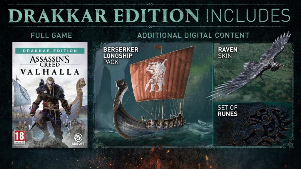 Assassin's Creed Valhalla Drakkar Edition (PS4)
