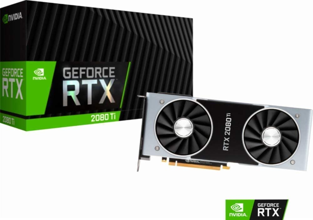 Nvidia RTX 2080 Ti FE Shroud Gaming PC