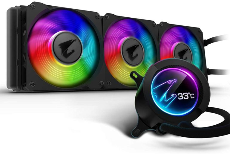Aorus AIO 360 CPU Coolers Intel i9 10900K