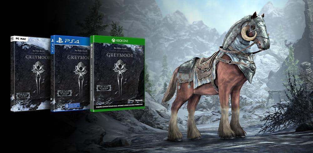Elder Scrolls Online Greymoor Pre-order Bonus