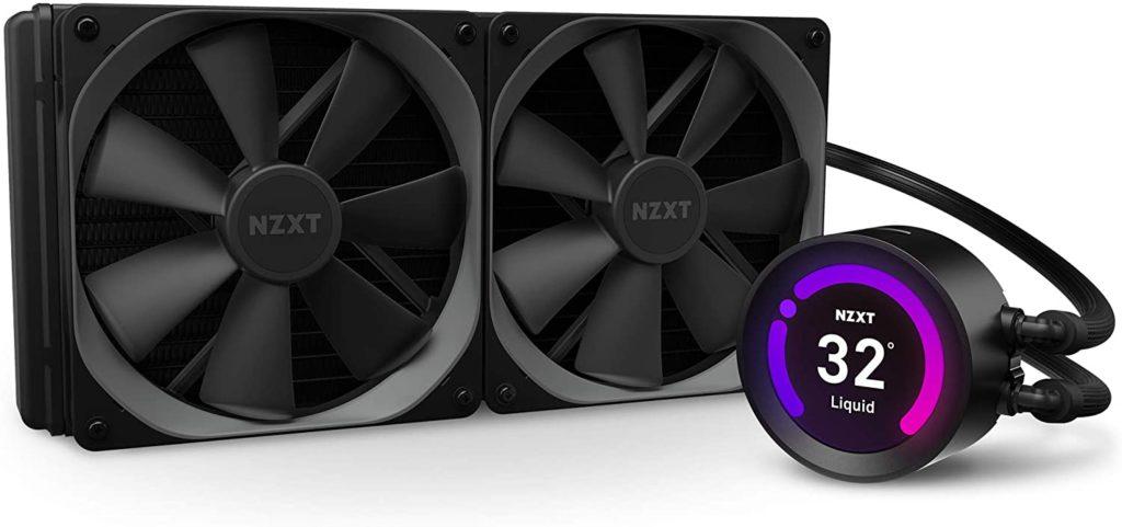 NZXT Kraken Z63 CPU Coolers Intel i9 10900K