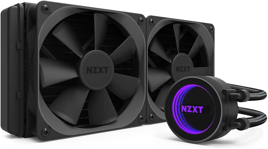 NZXT Kraken X52 CPU Coolers Intel i9 10900K