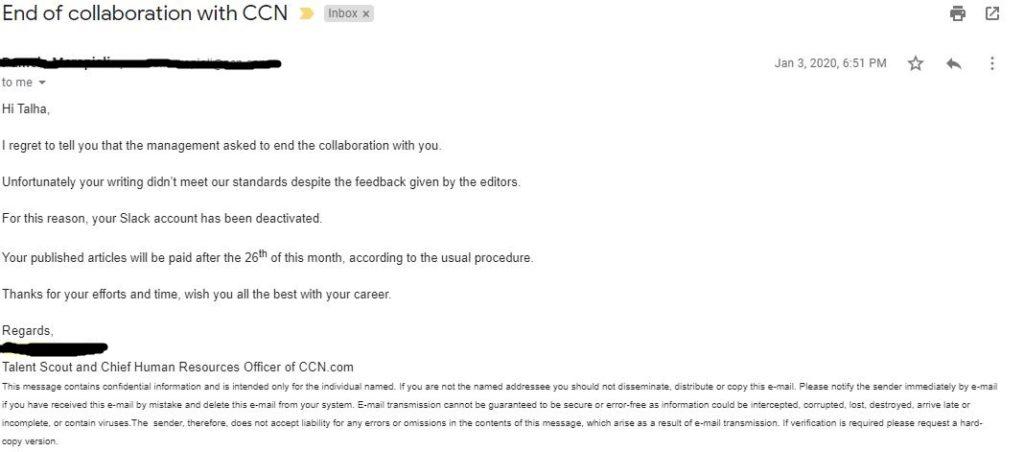 CCN Scam
