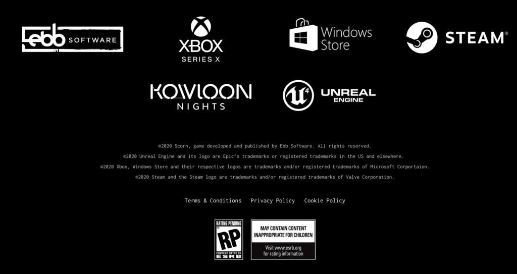 Scorn Xbox Series X