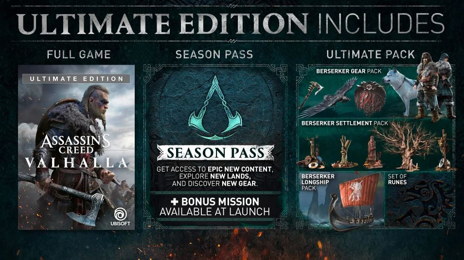 Assassin's Creed Valhalla Ultimate Edition (Xbox)