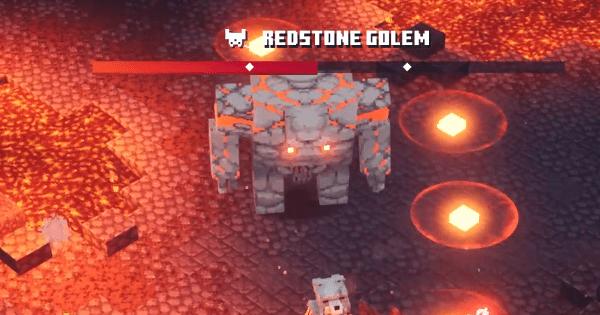 Minecraft Dungeons Redstone Golem