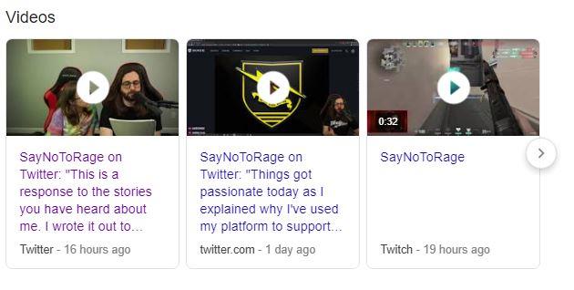 SayNoToRage Sexual Assault