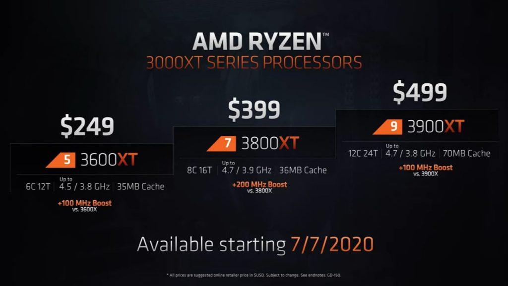 AMD Ryzen 3900XT Launch