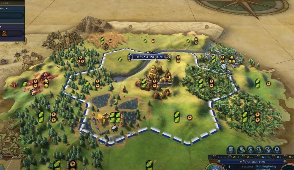 Civilization 6 City Grow