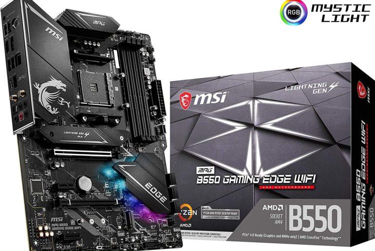 MSI MPG B550 Gaming Edge WiFi