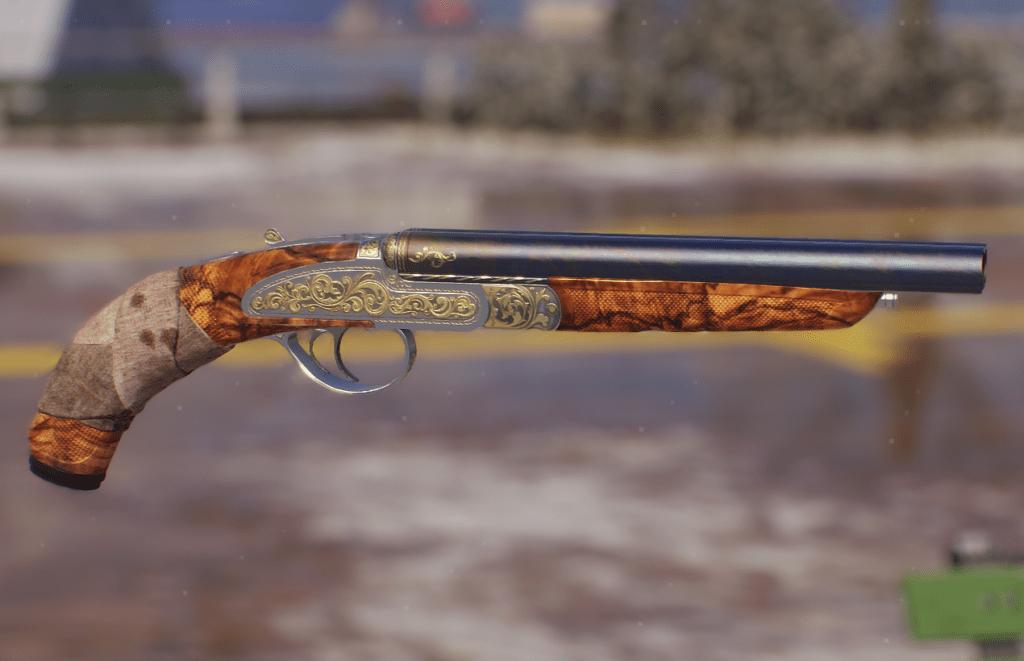 Double Barrel Sawed Off Shotgun