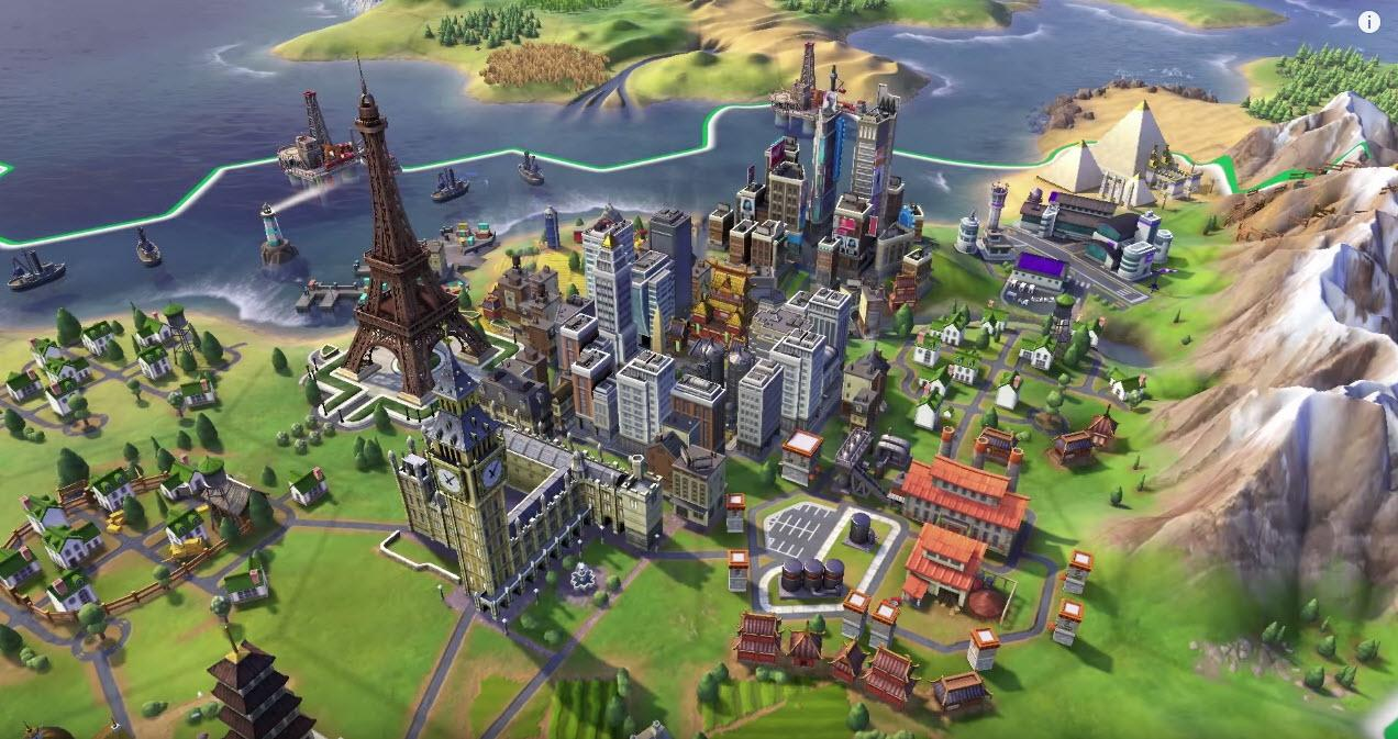 Civilization 6 City Grow