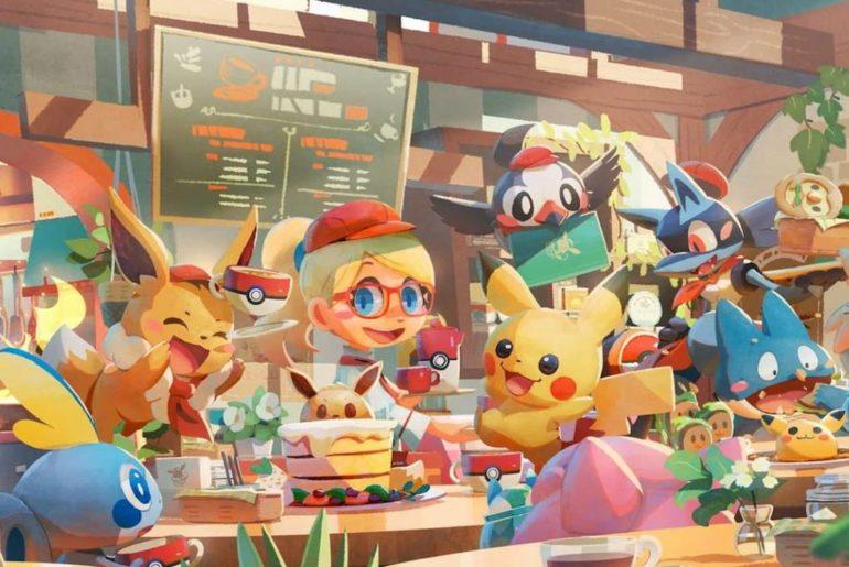 Pokemon Cafe Mix Golden Acorns