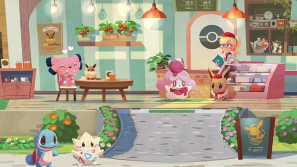Pokemon Cafe Mix friendship level