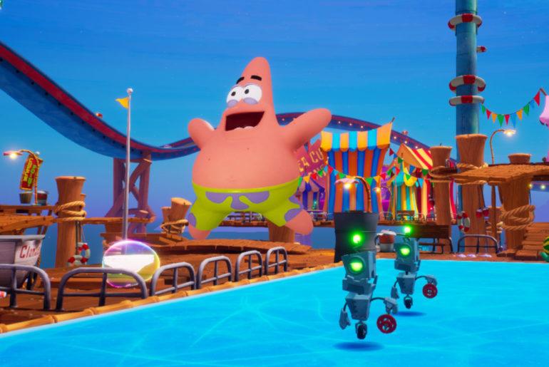 SpongeBob SquarePants Goo Lagoon Golden Spatula Locations