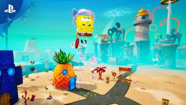 SpongeBob SquarePants Jellyfish Fields Golden Spatula Locations