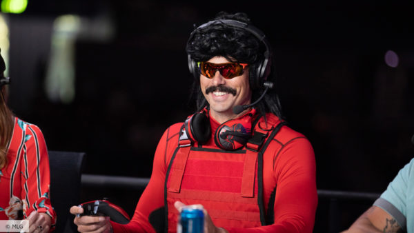 dr disrespect arrested