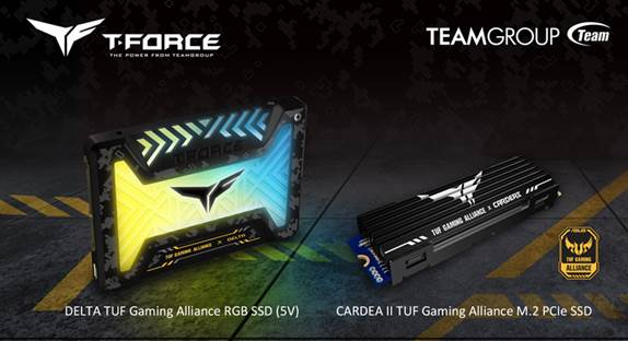 TEAMGROUP ASUS TUF SSDs