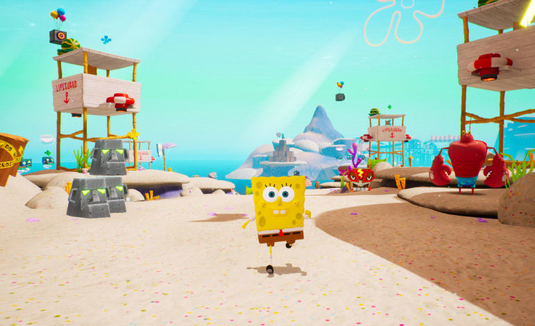 SpongeBob SquarePants Sand Mountain Golden Spatula Locations