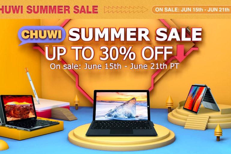 CHUWI AliExpress Summer Sale