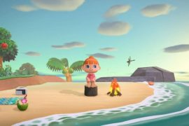 Animal Crossing: New Horizons Swim