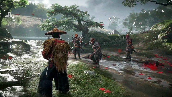 Observing Enemy Leaders in Ghost of Tsushima