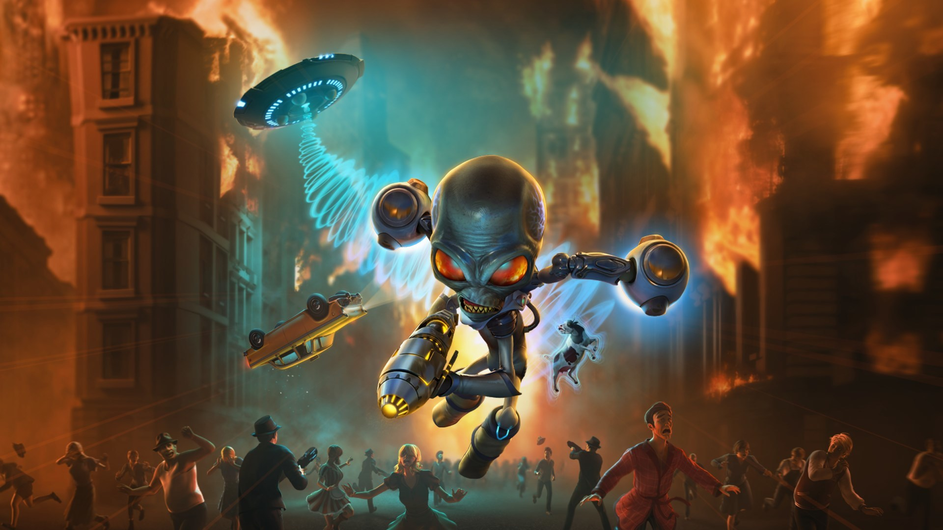 How to Unlock Pyrokinesis in Destroy All Humans!