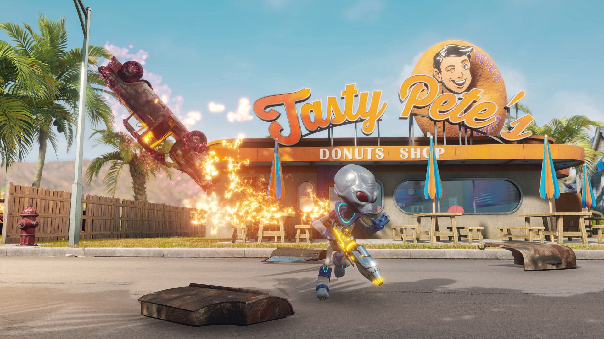 Destroy All Humans Cheats Guide