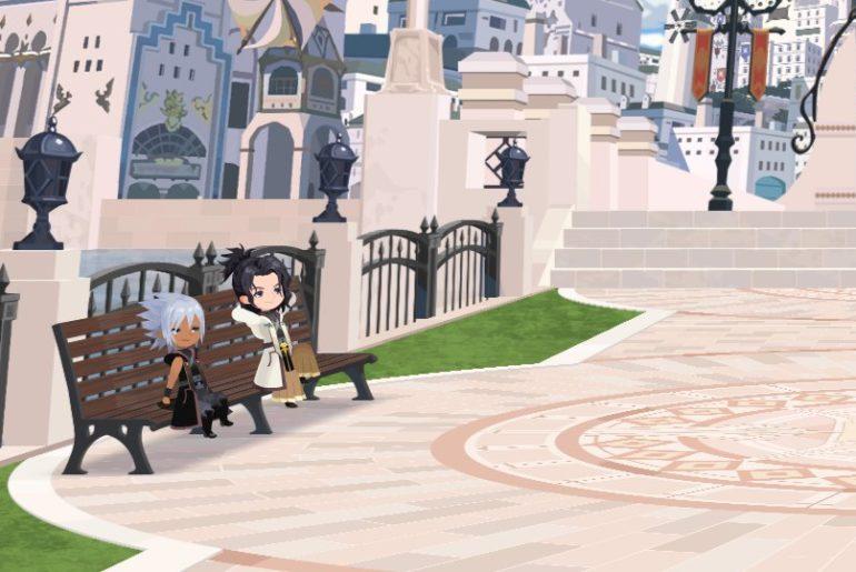 Kingdom Hearts Dark Road Auto Battle