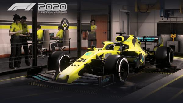 F1 2020 MyTeam Team Management