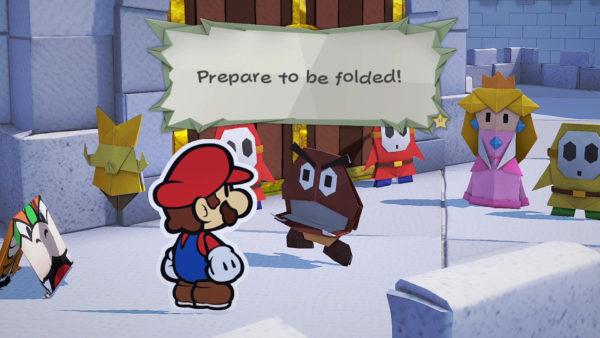 Paper Mario The Origami King Castle Escape