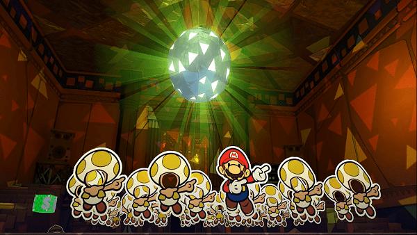 Paper Mario confetti farming