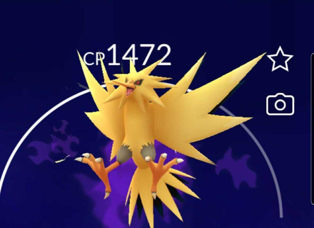 Pokemon GO Fest Day 2 Zapdos