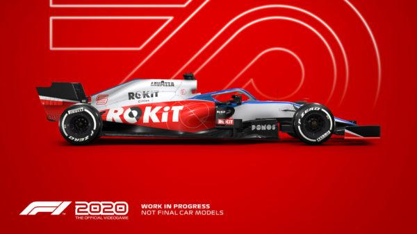 change camera F1 2020