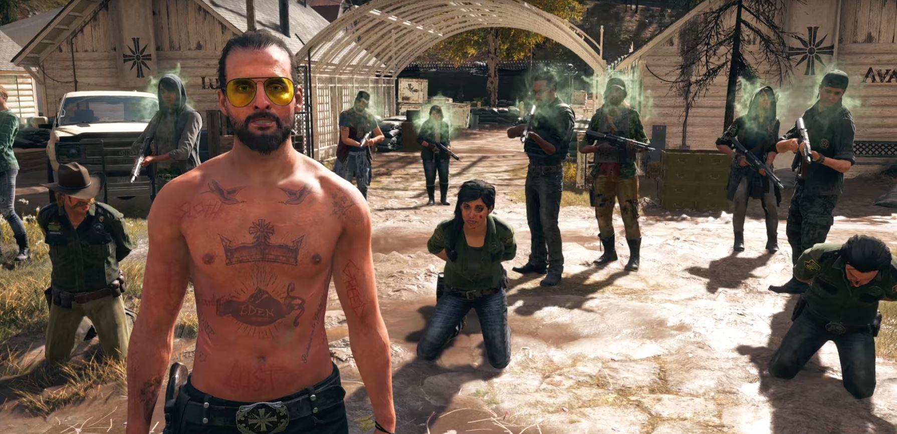 Far Cry 5 endings
