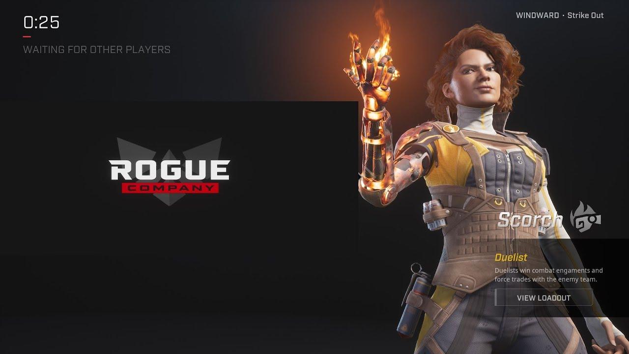 Rogue Company Scorch Guide