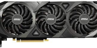 MSI Gaming GeForce RTX 3090 Venatus 3X