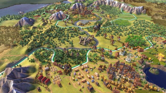 Civilization 6 Gaul Uniques