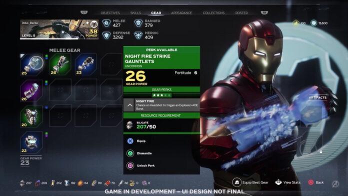 Marvel's Avengers Exotic Gear