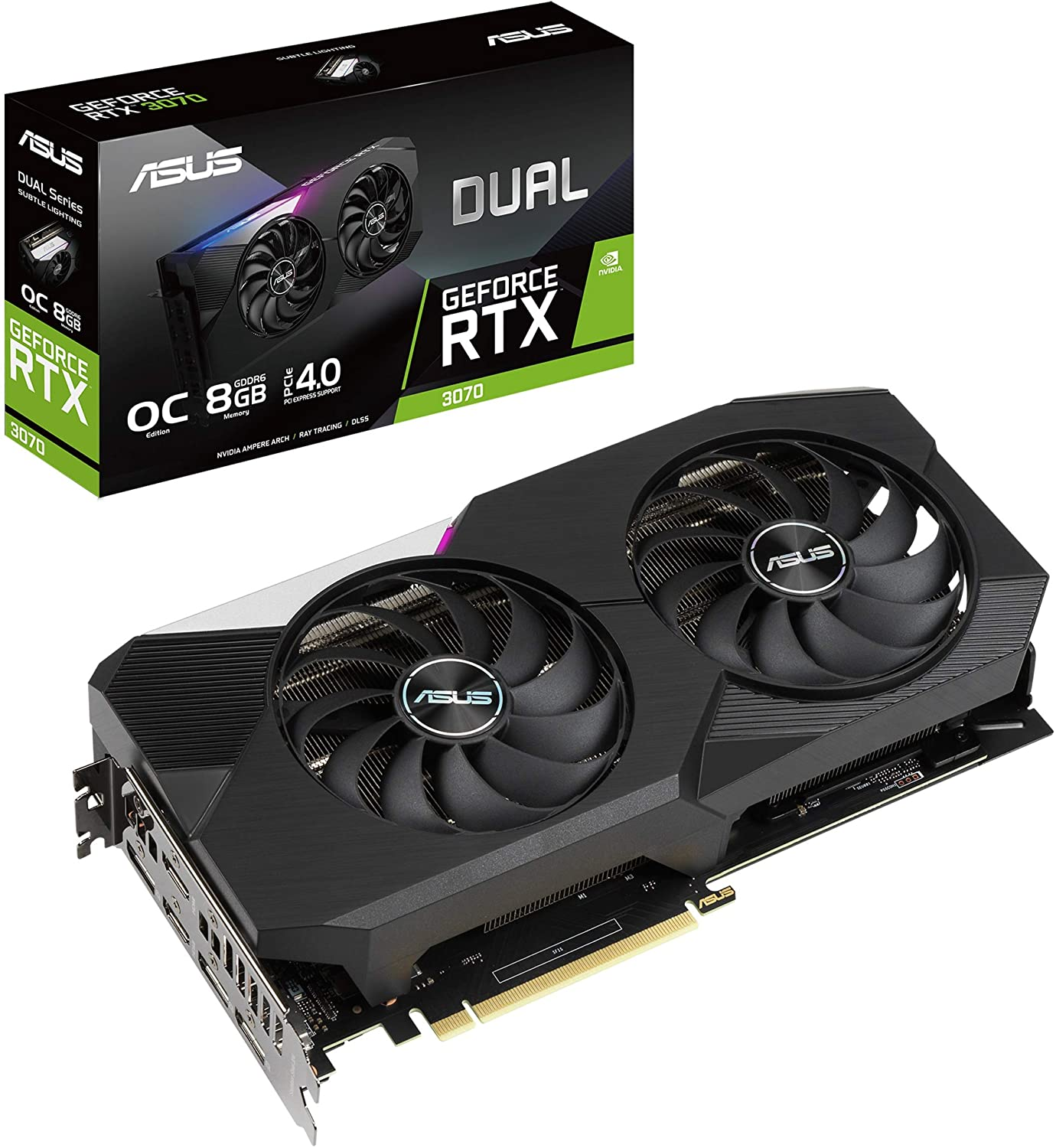 Asus RTX 3070 Dual OC Edition