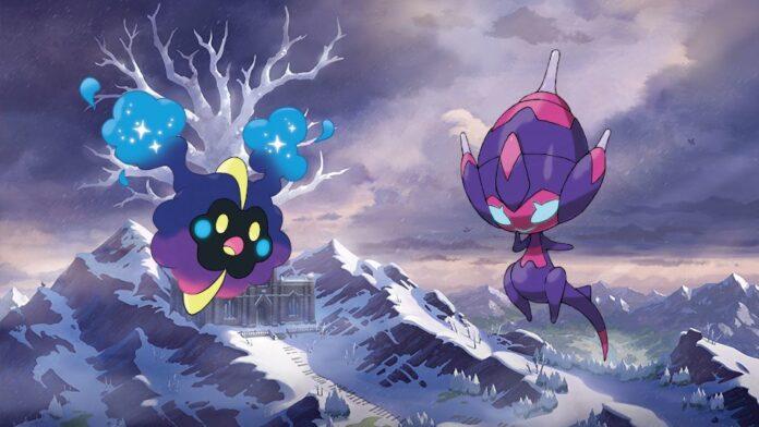 Pokemon Sword Shield Cosmog
