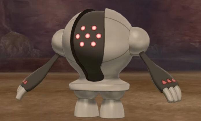 Pokemon Crown Tundra Registeel