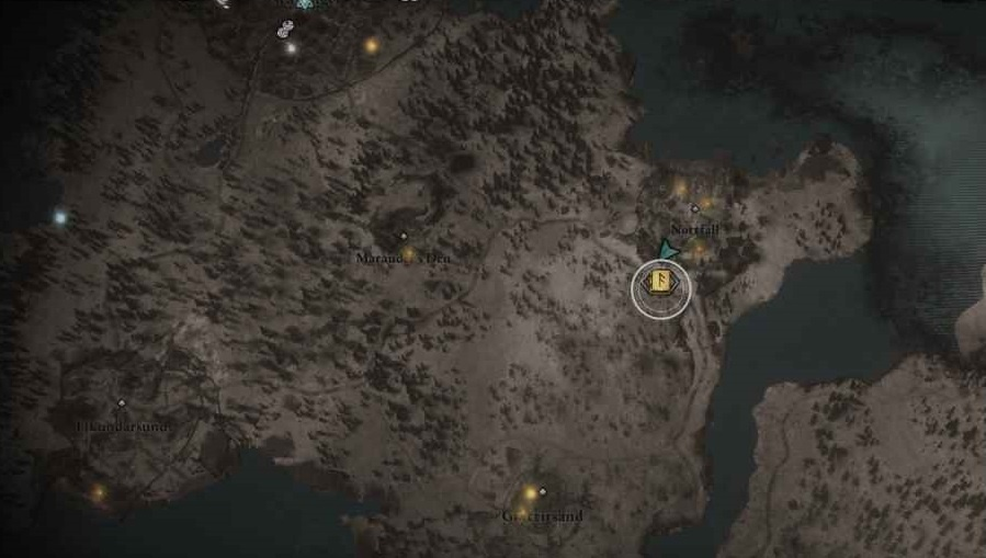 Assassin's Creed Valhalla Throwing Fury Knife location