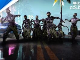 4 Zombies in COD Black Ops Cold War