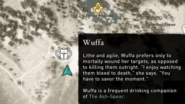 Assassin's Creed: Valhalla Wuffa