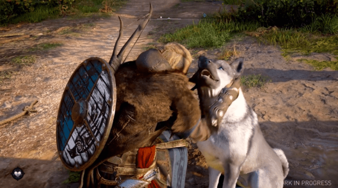 Pet a Dog in Assassin's Creed Valhalla