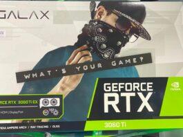 Galax RTX 3060 Ti EX