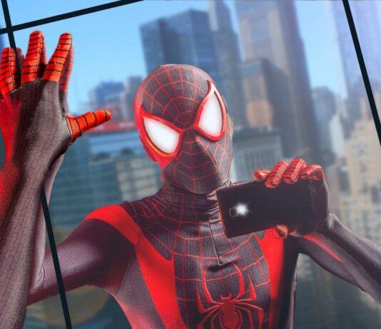 Selfie in Spider-Man: Miles Morales