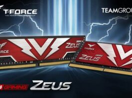 TEAMGROUP ZEUS Memory Modules
